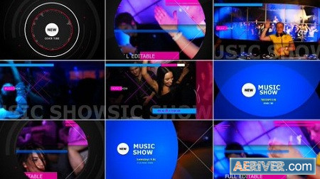 Music Show 9597464 After Effects Project Download Videohive