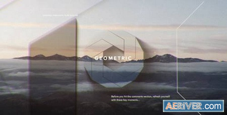 Simple Shapes Opener 21453555 After Effects Project Download