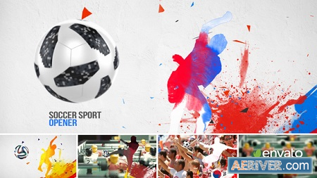 VideoHive Soccer Sport Opener 1331981 After Effects Project