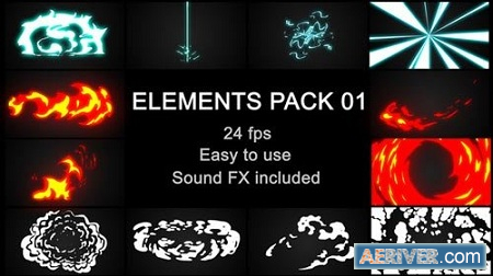 Videohive Flash Fx Elements Pack 01