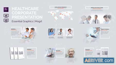 Videohive Healthcare Corporate Presentation Essential Graphics Mogrt