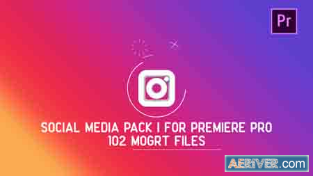 Videohive Social Media Pack MOGRT for Premiere PRO 21836967 Free