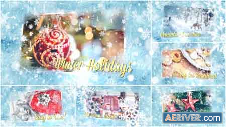 Videohive Winter Holidays Slideshow 13960136 Free