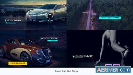 Videohive Sport Call-Out Titles 22560059 Free
