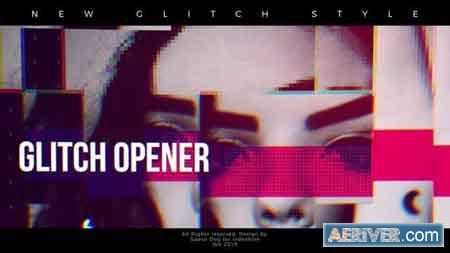 Videohive Glitch Inspired Opener 23383232 Free