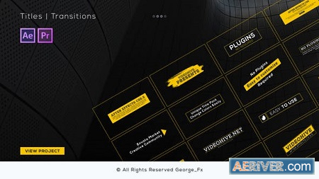 Videohive Motion Elements Pack 21806682 Free