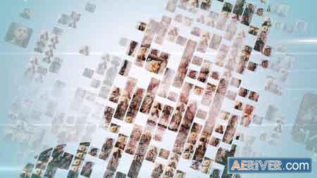 Videohive Simple Mosaic Logo 23378418 Free