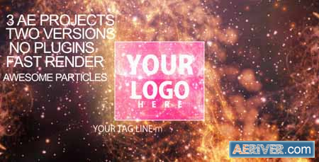 Videohive Particles-flare Logo Opener 2 2340128 Free