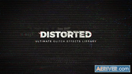 Videohive Distorted - Ultimate Glitch Effects Library 22461986 Free