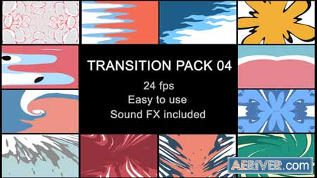 Videohive Liquid Transitions Pack 04 23378312 Free