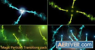 Videohive Liquid Transitions Big Pack 23309878 Free