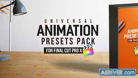 Videohive Animation Presets Pack - Final Cut Pro X 23357036 Free