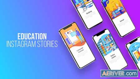 Videohive Education - Instagram Stories 23797911 Free