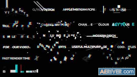 Videohive Glitch Titles 2 23734714 Free
