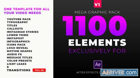 Videohive Mega Graphics Pack 23431047 Free