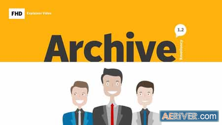 Videohive Archive Explainer Infographic 23208084 Free
