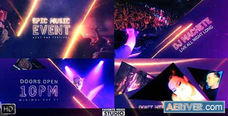 Videohive Epic Music Event 16029921 Free