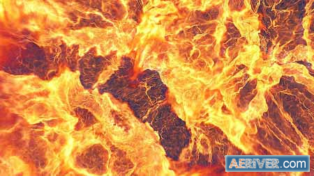 Videohive Fire Explosion Logo Reveal II 12493184 Free