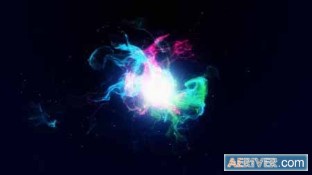 Videohive 3 Color Particles Logo Reveal 15693679 Free