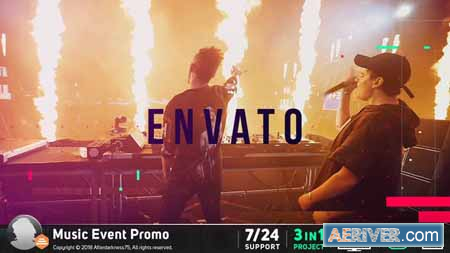 VideoHive Music Event Promo 21150268 Free