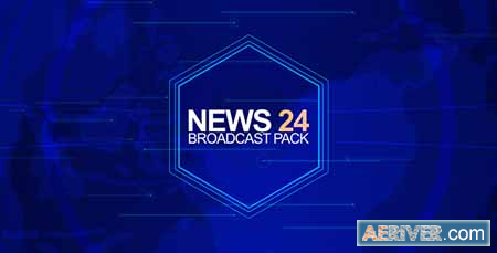 VideoHive News 24 (Broadcast Pack) 9120666 Free