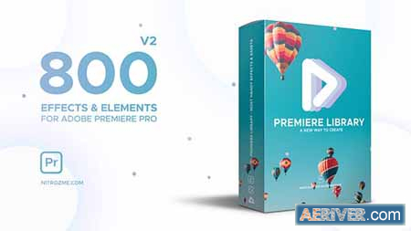 Videohive Premiere Library Most Handy Effects V2 21715323 Free