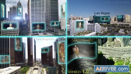 Videohive Outdoor LED Advertising Displays 14563041 Free