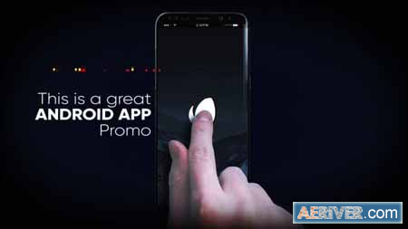 android mobile app promotion free after effects templates