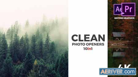 VideoHive Clean Photo Openers - Logo Reveal 22122951 Free