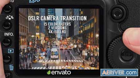 VideoHive DSLR Camera Transition 16429050 Free