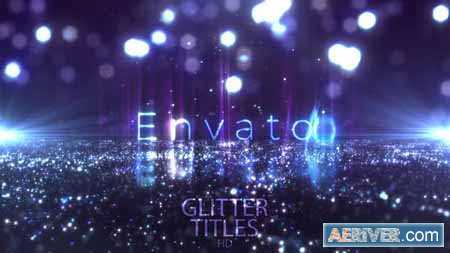 VideoHive Glitter Fashion Titles 24113322 Free