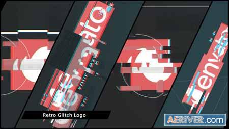 VideoHive Retro Glitch Logo 15845470 Free