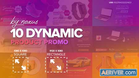 free product promotion after effects template
