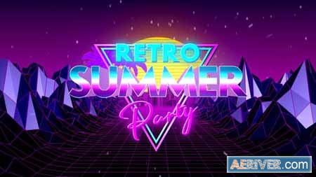 VideoHive Retro Summer Party Opener 24301945 Free