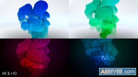 Videohive Color Smoke Logo Reveal 3 21458375 Free