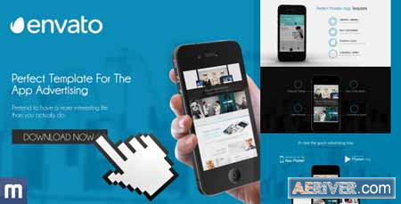 VideoHive Template For The App Advertising 8489125 Free