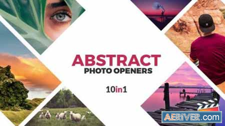 Videohive Abstract Photo Openers Logo Reveal 24354584 Free