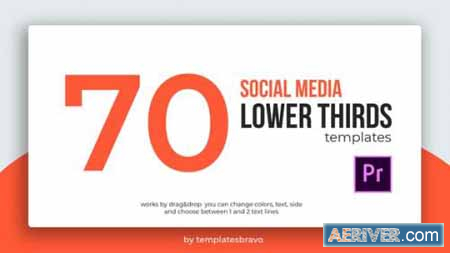 Videohive Social Media Lower Thirds 24457401 Free