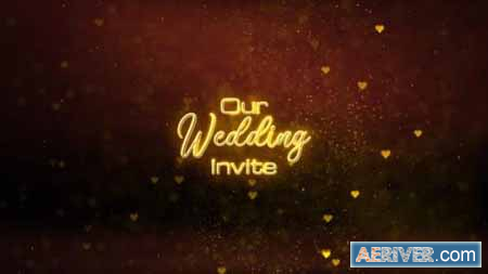 Videohive Wedding Invitation Titles 24531003 Free