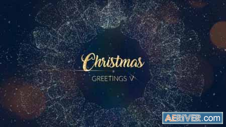 Videohive Christmas Greetings V After Effects Template