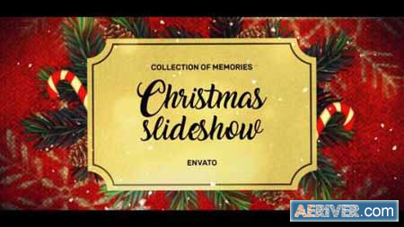 christmas slideshow after effects template free