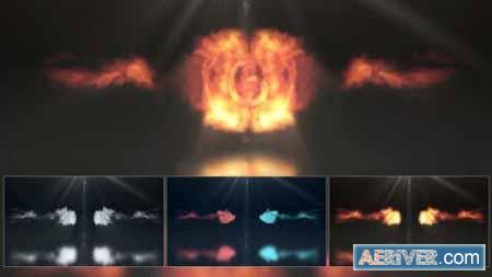Videohive Smoke & Fire Logo Reveal 21954511 Free