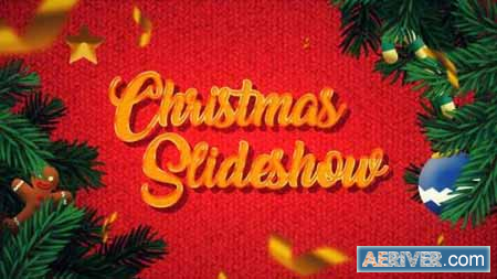 Videohive Winter Christmas Photo Slideshow 25270426 Free