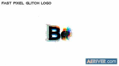 Videohive Fast Pixel Glitch Logo 31352623 Free