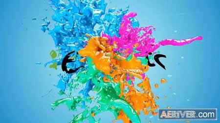 Videohive Liquid Paint Splash Logo 21672915 Free